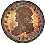 1821 Capped Bust Quarter. Browning-5. Rarity-8 as a Proof. Proof-67 (PCGS).PCGS Population: 1, none