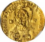 JUSTINIAN II, FIRST REIGN, 685-695. AV Solidus (4.45 gms), Constantinople Mint, Uncertain Officina,