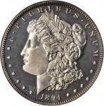 1894 Morgan Silver Dollar. Proof-64 (NGC).