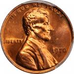 1970-S Lincoln Cent. Large Date. FS-101. Doubled Die Obverse. MS-65+ RD (PCGS).