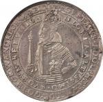 SWEDEN. Riksdaler, 1617. Stockholm Mint. Gustav II Adolf (1611-32). NGC EF Details--Edge Graffiti.