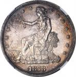 1878 Trade Dollar. Proof-63 (NGC).