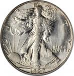 1927-S Walking Liberty Half Dollar. MS-64 (PCGS).