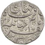 Lot 2378 MUGHAL: Jahangir, 1605-1628, AR rupee 4011.43g41, Ahmadabad, AH1027, KM-149.3, struck from