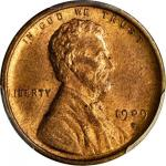 1909-S Lincoln Cent. V.D.B. MS-65 RB (PCGS). CAC.