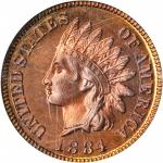 1884 Indian Cent. Proof-66 RD (PCGS). OGH.