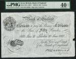 Bank of England, Basil Gage Catterns (1929-1934), 」50, London 20 June 1932, serial number 48/N 59540