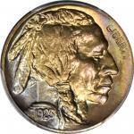 1923-S Buffalo Nickel. MS-65+ (PCGS).