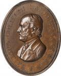 1791 (ca. 1870) Berwick Academy Lambert Cogswell Medal. By J.S. and A.B. Wyon. Julian UN-9. Copper.