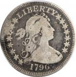 1796 Draped Bust Quarter. B-2. Rarity-3. Good-6 (PCGS).