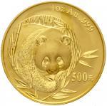 2003年熊猫纪念金币1盎司 完未流通