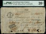 1809年英格兰银行亨利2镑 PMG VF 20
