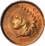 1899 Indian Cent. MS-67 RD (PCGS). Secure Holder.