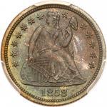 1858 Liberty Seated Dime. PCGS PF66