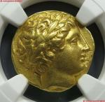 10 (NGC-AU)古希腊腓力三世1标准金币