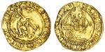 Henry VIII (1509-47), Quarter-Angel, third coinage, 1.24g, mm. lis, henricvs viii dei gra agl / i, n