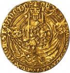 英国。亨利五世(1413-22)1诺布尔金币。