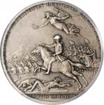1781 Lieutenant Colonel William Washington at Cowpens Medal. Paris Mint Restrike. Silver. 46 mm. Bet