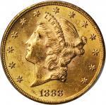 1888 Liberty Head Double Eagle. MS-62 (PCGS).