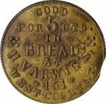 Ohio--Cincinnati. Undated (1861-1865) Henry Varwig. Fuld-165GD-1b. Rarity-7. Brass. Plain Edge. 22 m