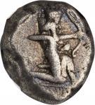 PERSIA. Achaemenidae. Darios I to Xerxes I, ca. 505-480 B.C. AR Siglos, Sardes Mint. NGC Ch F.
