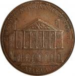 Undated (Circa 1798) Theatre at New York Token. W-9080. Rarity-6. Proof-65 BN (PCGS).