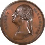 Circa 1857 Born in Virginia medal by C.C. Wright and F.B. Smith. Musante GW-204, Baker-133. Bronze.