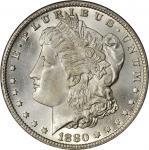 1880-CC Morgan Silver Dollar. MS-66 (PCGS). CAC.