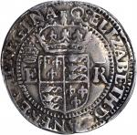 GREAT BRITAIN. Portcullis Testern, ND (ca. 1600). Elizabeth I (1558-1603). PCGS VF-25 Secure Holder.
