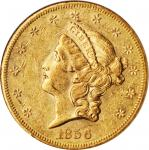 1856-S Liberty Head Double Eagle. EF-45 (NGC).