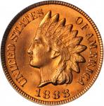1888 Indian Cent. MS-65 RD (PCGS). CAC.