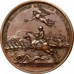 1781 (1845-1860) Lieutenant Colonel William Washington at Cowpens Medal. Paris Mint Restrike from Or