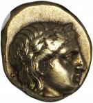 LESBOS. Mytilene. EL Hekte (2.55 gms), ca. 377-326 B.C.