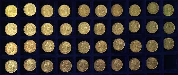 World Coins, Switzerland  Confederation  Large lots of 39