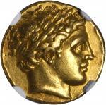 MACEDON. Kingdom of Macedon. Philip II, 359-336 B.C. AV Stater (8.60 gms), Pella Mint, ca. 336-323 B
