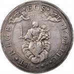 ITALY. Genoa. 2 Scudi, 1694-ITC. NGC EF-40.
