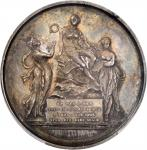 GREAT BRITAIN. National Exhibition of Shakespeares Works Silver Medal, 1803. PCGS MS-61 Secure Holde
