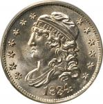 1834 Capped Bust Half Dime. LM-2. Rarity-1. MS-65 (PCGS). CAC.