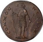 1788 Massachusetts Cent. Ryder 6-N, W-6240. Rarity-3-. No Period After MASSACHUSETTS. MS-62 BN (PCGS