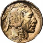 1915-D Buffalo Nickel. MS-66 (NGC).