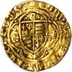 英国。爱德华四世,第一次统治(1461-70)1/4Ryal金币。伦敦造币厰。