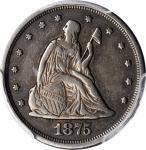 1875-S Twenty-Cent Piece. EF-40 (PCGS).