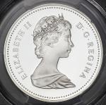 CANADA カナダ Dollar 1983 PCGS-PR69 DCAM Proof