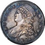 1829/7 Capped Bust Half Dollar. O-101. Rarity-1. MS-64 (PCGS).