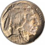 1918/7-D Buffalo Nickel. FS-101. AU-58 (PCGS). CAC.