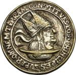 World Coins, Germany. Satirical Anti-Catholic issue. Cast late 16th century.  29.5 mm.  优美