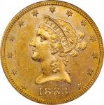 1883-S Liberty Head Eagle. MS-62 (NGC).