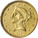 1839-C Liberty Half Eagle. AU Details--Filed Rims (PCGS).