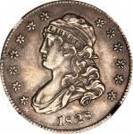 1828 Capped Bust Quarter. B-1. Rarity-1. AU Details--Obverse Damage (NGC).