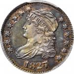 1827 Capped Bust Dime. JR-10. Rarity-6+. Pointed Top 1 in 10 C. Specimen-65 (PCGS).